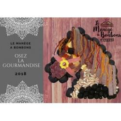 GÂTEAU DE BONBONS-CHEVAL-LE MANEGE A BONBONS-Béziers - Hérault - 34 - Occitanie