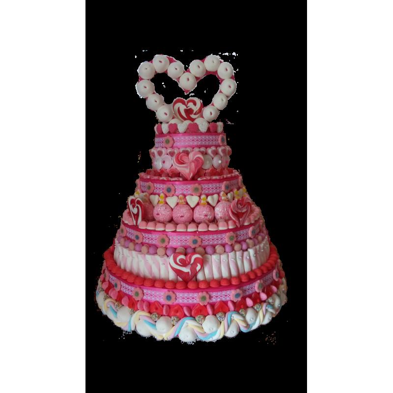 Gâteau De Bonbons Mariage Pièce Montée Le Manège à Bonbons
