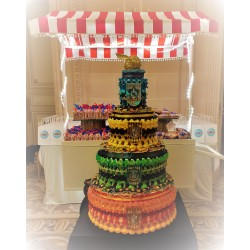 Photo Gateau de bonbon HARRY POTTER - Le Manège à Bonbons - Béziers Hérault Occitanie