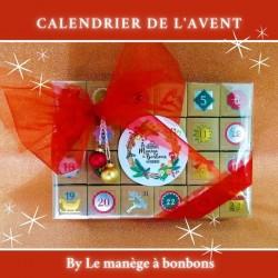 Photo Gateau de bonbon Calendrier de l'Avent - Le Manège à Bonbons - Béziers Hérault Occitanie